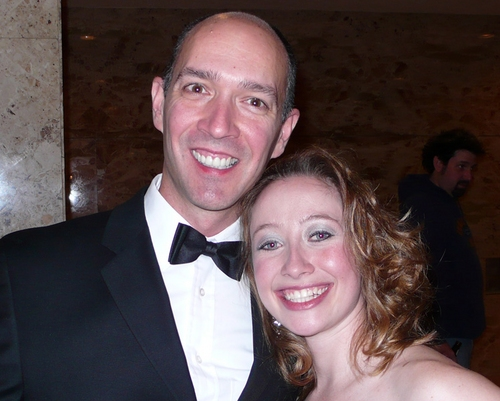 Franklin Brasz (Associate Musical Director) and Jennifer Stewart
