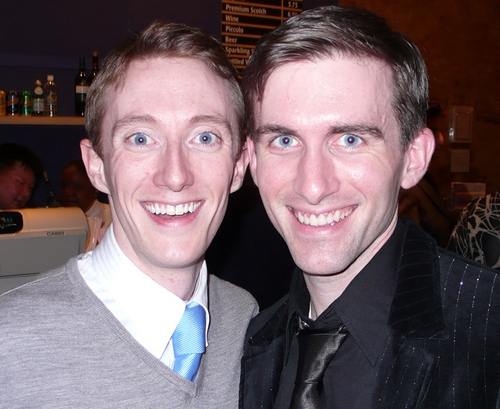 Brent McBeth and Matthew J. Kilgore at 'White Christmas' Toronto Opening Night