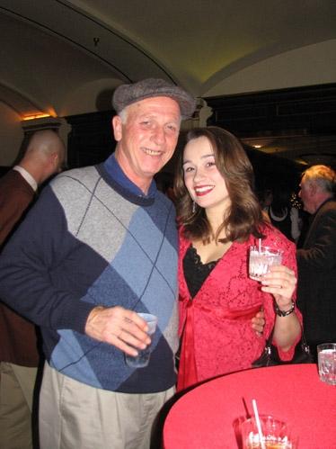 "Charles ""Jimmy"" Dean (General Waverly) and Lianne Marie Dobbs (Ensemble) Photo"