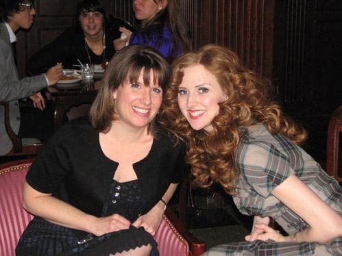 Emily Morgan (Dance Captain/Female Swing) and Melinda Cowan (Ensemble)