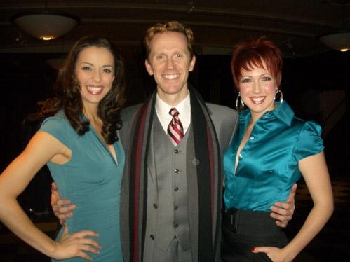 Erin Crouch, Jeffry Denman and Kiira Schmidt (Rhoda) Photo