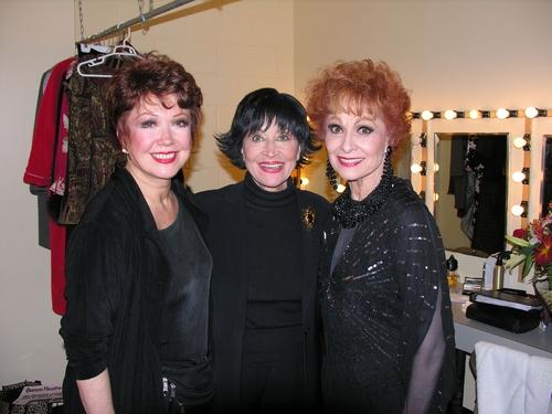 Donna McKechnie, Chita Rivera, Carol Lawrence Opening Night of Girl's Room