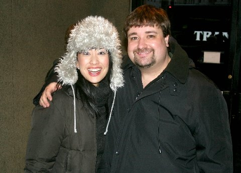 Angela Ai (Christmas Eve) and Cole Porter (Brian)