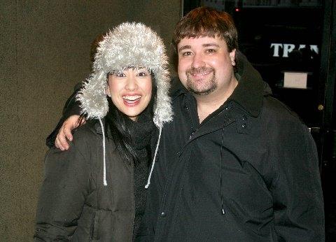 Angela Ai (Christmas Eve) and Cole Porter (Brian) Photo