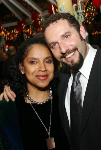 Phylicia Rashad and Adam Dannheisser