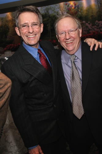 Mark Lamos (Director) and Michael Yeargan (Set Designer)