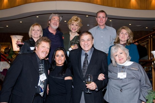 Producers and Creative Team Top Row (L to R) Kristine Lewis, Tony Walton, Margot Astrachan, Jim Dale, Jamie