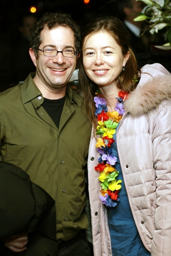 Jonathan Silverstein and Christal Weatherly (Costume Designer)