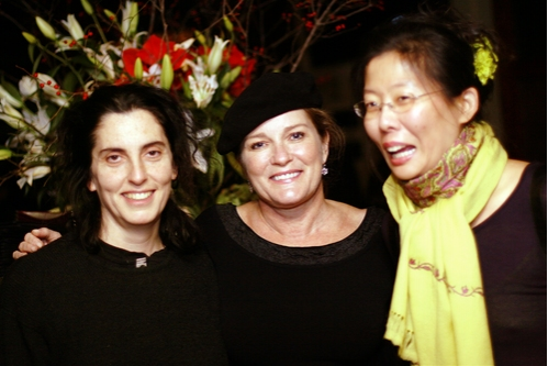 Tina Landau, Kate Mulgrew and Anita Yavich