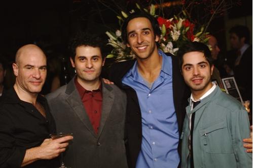 Demosthenes Chrysan, Arian Moayed, Amir Arison and Satya Bhabha