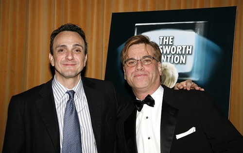Hank Azaria and Aaron Sorkin