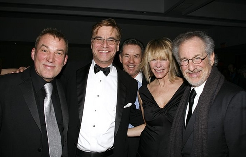 Des McAnuff, Aaron Sorkin, James Sutorious, Kate Capshaw and Steven Spielberg