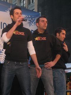 Chad Doreck, Joey Khoury and Ryan Strand