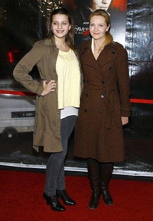 Sadie Friedman and Joan Allen