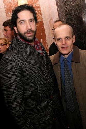 David Schwimmer és Zelko Ivanek, 2007.dec.
