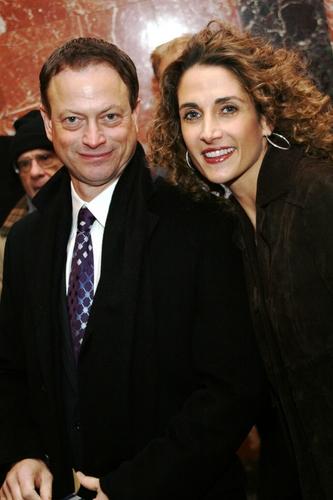 Gary Sinise and Melina Kanakaredes