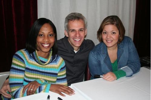 Tenesha Gary, Neal Mayer and Jessica Cope
