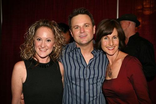 "DeLyn, Sam Harris and ""Happy Days"" star Cathy Silvers"