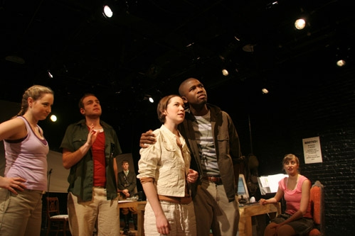 Tristin Daley, Eric Eastman, Natalie Kuhn (as Galy Gay), Brandon Kyle Goodman, and Lauren Blumenfeld