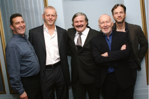 Ciaran Hinds, David Morse, Conleth Hill, Jim Norton and Sean Mahon at 'The Seafarer' Opening Night
