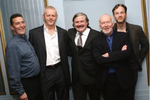 Ciaran Hinds, David Morse, Conleth Hill, Jim Norton and Sean Mahon at 'The Seafarer' Opening Night