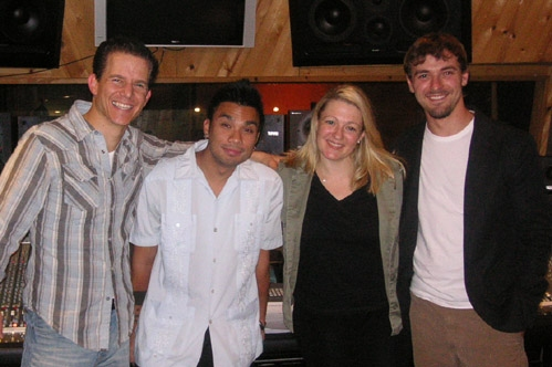 Christian Hoff (Jersey Boys), Andros Rodriguez, Lynn Pinto and Charles Czarnecki