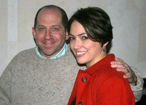 Jason Kravits and Joanna Young