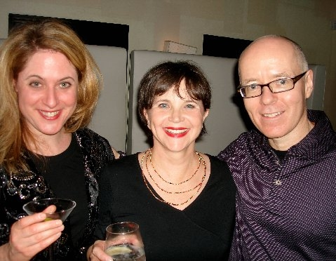 Lisa Lambert, Cindy Williams and Greg Morrison