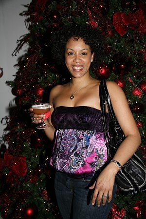 Krisha Marcano at 'The Color Purple' Christmas Party