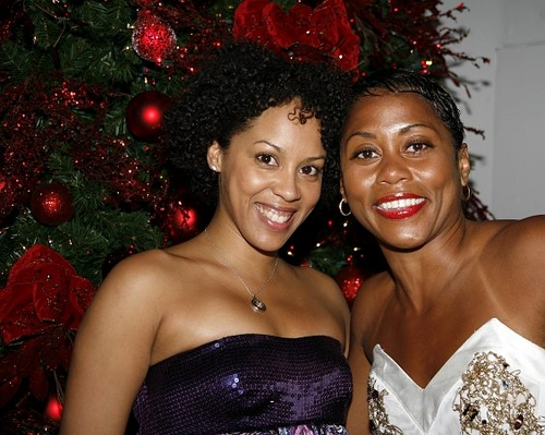 Krisha Marcano and Elisabeth Withers-Mendes