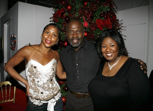 Elisabeth Withers-Mendes, BeBe Winans and Natasha Yvette Williams