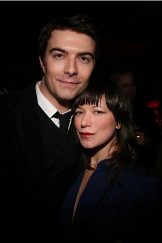 Noah Bean and Julienne Hanzelka Kim