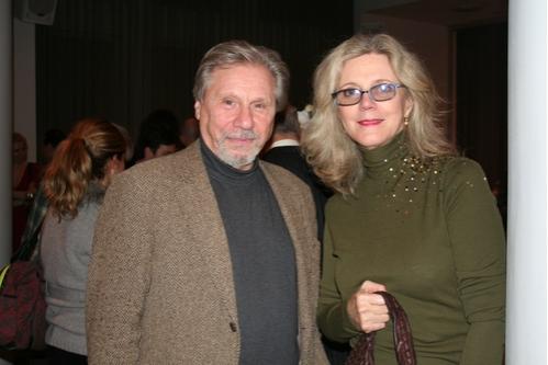 Robert Walden and Blythe Danner