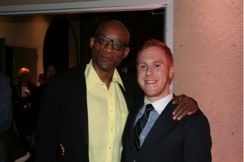 Bill T. Jones and Producer Chris Giarmo