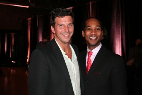 Tim Tompkins (Times Square Alliance President) and Christopher Davis Photo