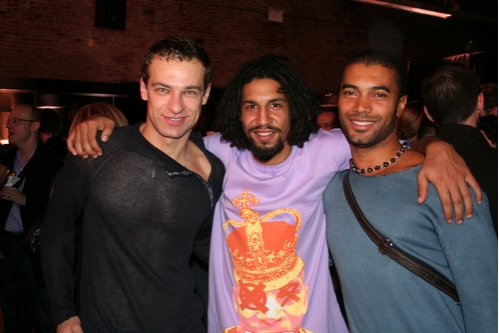 Sergey Gordeeu, Jason Samuels Smith and Carlos Dos Santos
