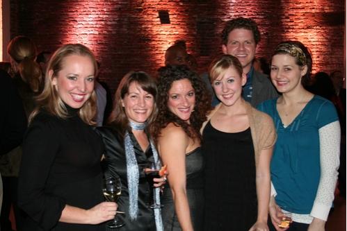 Alicia Albright, Wendy Seyb DRA Choreographer, Jessica Green, Sarah Marie Jenkins, Gavin Eshman and