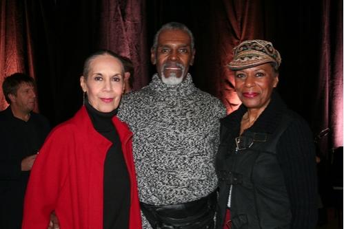 Carmen de Lavallade, Gus Solomons Jr., and Sarita Allen