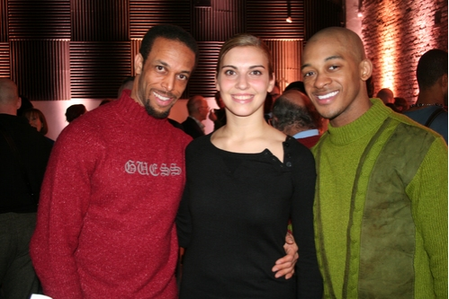 Jamal Story, Joanna Defelice, Brandon O'Neal  Photo