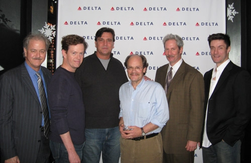 Francis Guinan, Dylan Baker, Michael Nichols, Ethan Phillips, Troy West, and Gareth Saxe