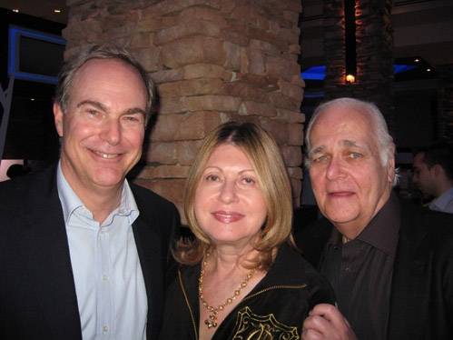 Producers James Fuld, Jr., with Susan and Ronald Frankel