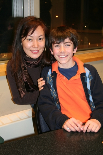 Yuka Kawaza and Henry Hodges