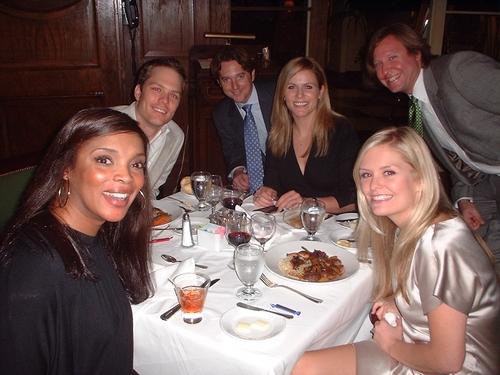 (L to R) Marlyne Afflack, Chris Shenkle, Skipper Bond, Tamara Lovatt-Smith, Jordan Friedman, Kathleen Monteleone