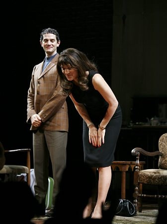 James Frain and Eve Best