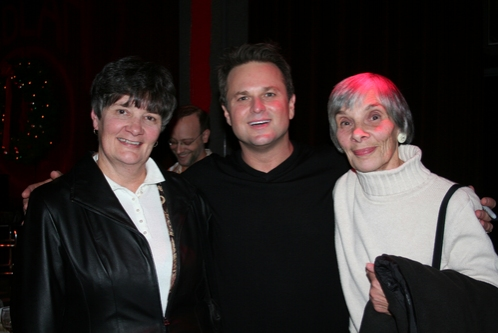 Sue Poulin, Sam Harris and Naomi Andros