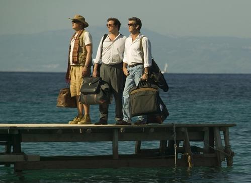 Stellan SkarsgïÂ�¿Â½rd, Colin Firth and Pierce Brosnan Photo