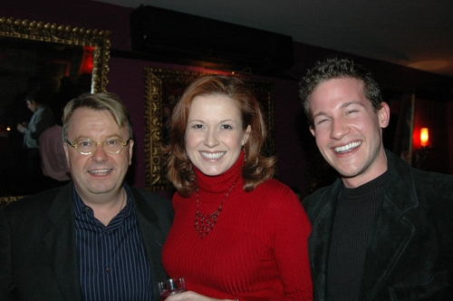 Dave McDowell, Kristin Carbone and Mitchell Folucci