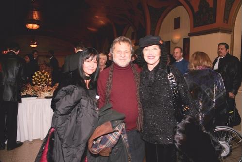 Post-Performance Reception: Lisa Mordente, Tony Mordente, Chita Rivera