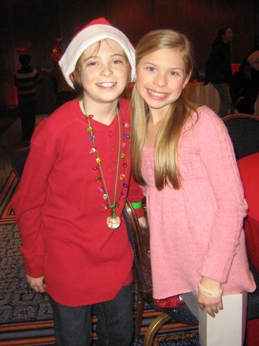 Dylan Riley Snyder and Gabriella Malek