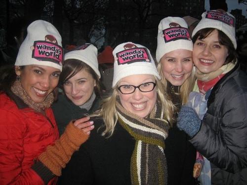 l-r: Lakisha Anne Brown, Sandie Rosa, Heather Jane Rollf, Christine Scharf and Jennifer Bowles of Wanda's World